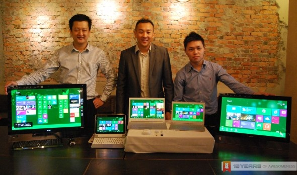 Acer Malaysia Windows 8 Preview