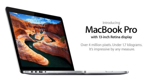 The 13Inch Retina Display Macbook Pro: More Pixels, Smaller Frame ...