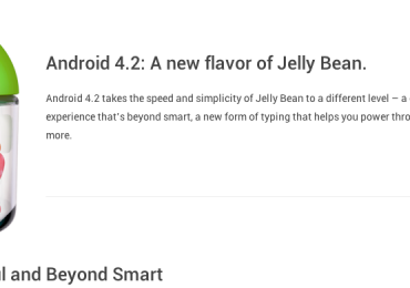 1 Android 4.2 Whats New