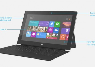 Microsoft Surface with Windows 8 Pro