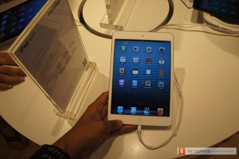 LYN iPad Mini Watch Site Visit: Machines Sunway Pyramid