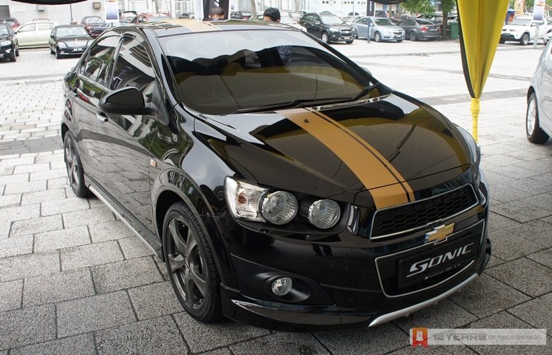 Chevrolet Sonic Arrives In Malaysia, Price Starts From RM ...