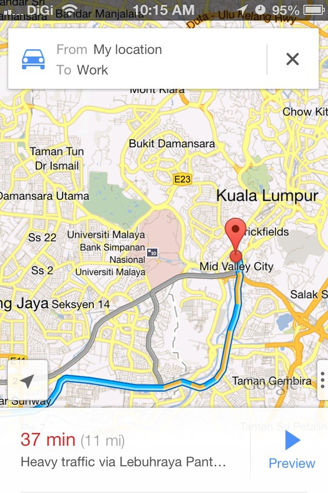 Hands On: Google Maps app for iOS | Lowyat.NET on