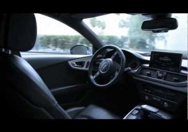 Audi demo's self driving, self parking car