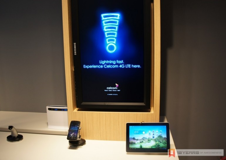 Celcom 4G LTE Experience at Blue Cube Sunway