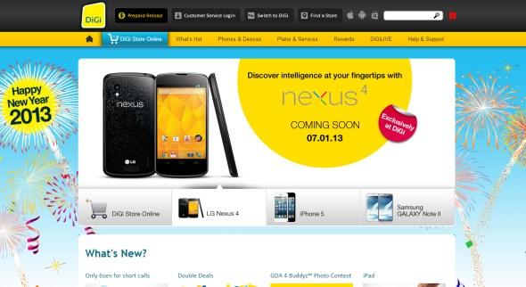 DiGi - Google Nexus 4 by LG