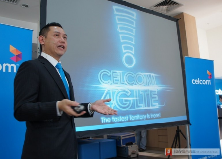 Celcom LTE Media Briefing