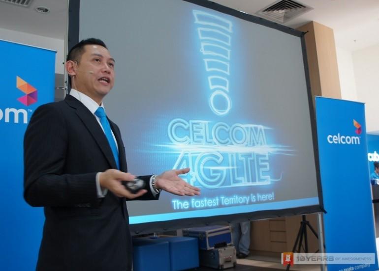 Celcom LTE Media Briefing