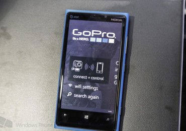 GoPro App for Windows Phone 8