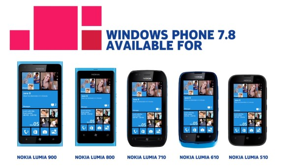 Windows Phone 7.8 for Nokia Lumia
