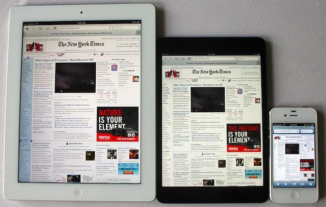 iPad mini march