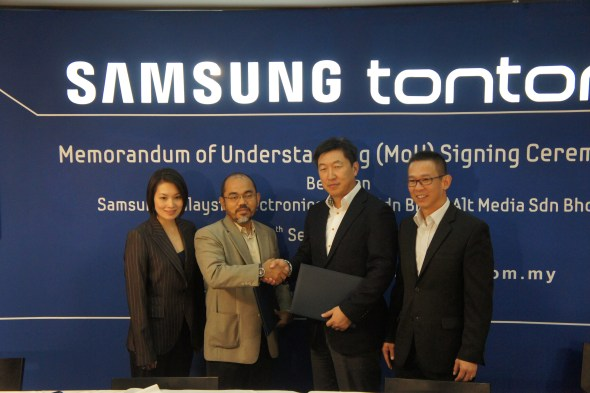 Samsung SMART TV Gets Smarter with Tonton TV App | Lowyat NET