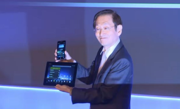 Asus Padfone Infinity at MWC 2013
