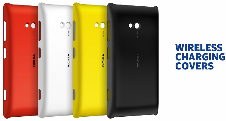 Wireless Charging Cover for Nokia Lumia 720