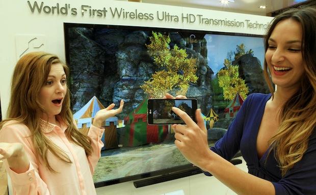 LG UHD Transmission