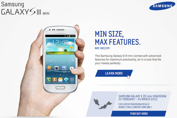 S III mini roadshow