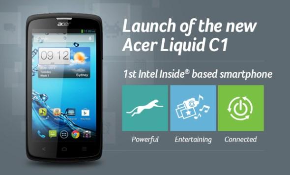 Acer Liquid C1 Malaysian Launch