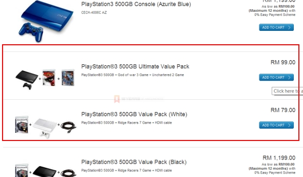 Sony Malaysia PS3 For RM 79?