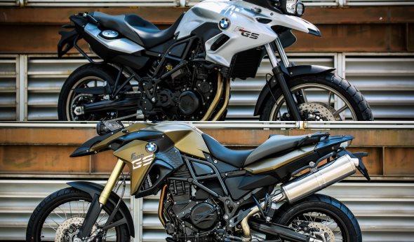 BMW Motorrad F 700 GS and F 800 GS