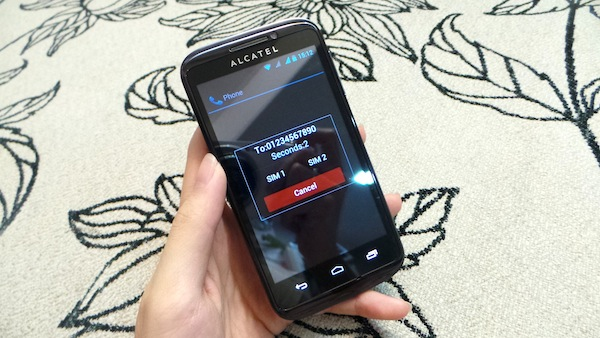 Alcatel One Touch 993D 10