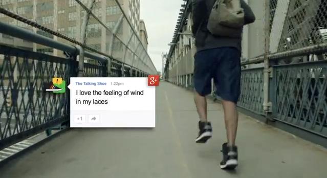 Google Talking Shoe SXSW