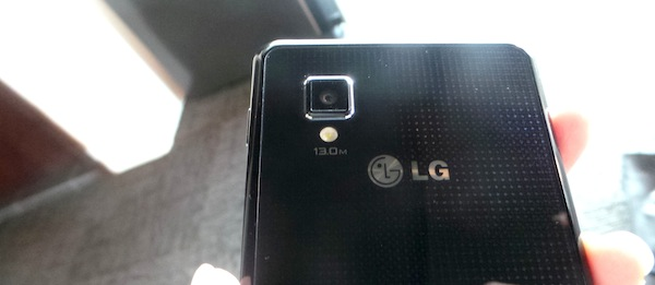 LG Optimus G Design Back
