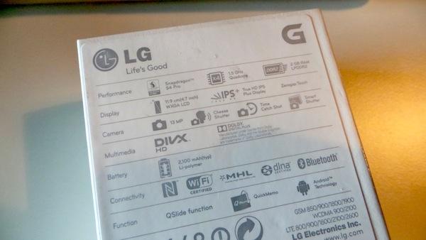 LG Optimus G Unboxing 2