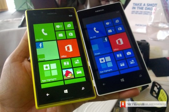 Nokia Lumia 720 and 520