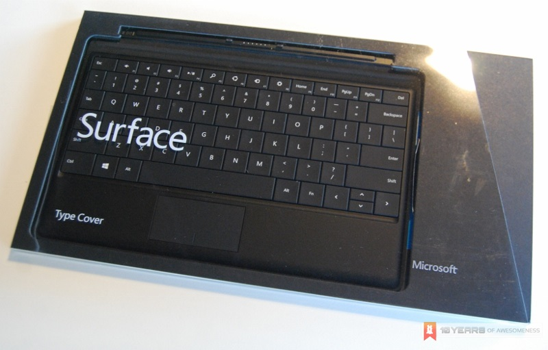 Type Cover for Microsoft Surface
