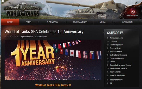 World of Tanks SEA