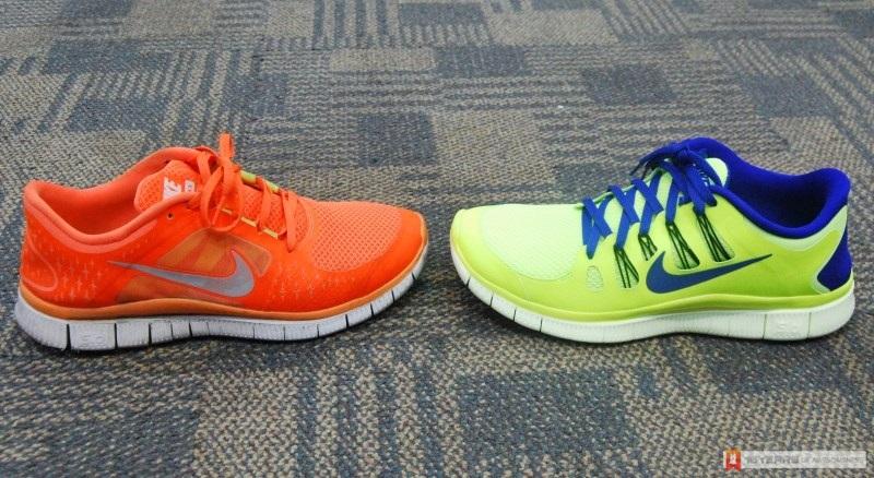 2012 Nike Free Run 3 vs 2013 Nike Free 5.0
