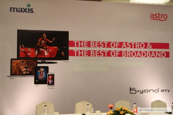 Astro B.yond IPTV with Maxis