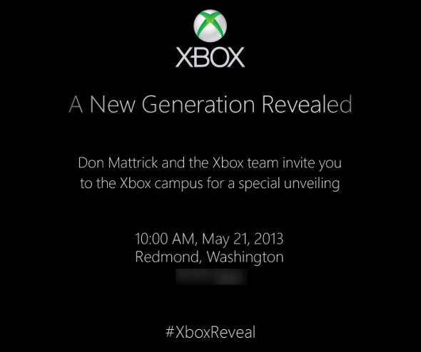 Next-Gen Xbox Invite