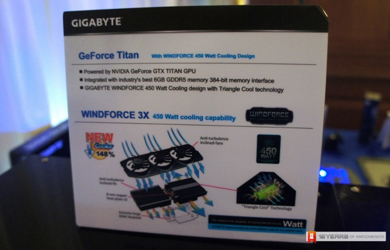 Gigabyte Windforce 3X 450W GTX Titan