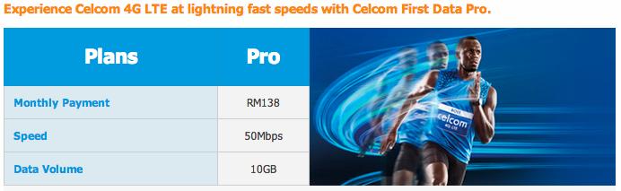 Celcom 4G LTE Mpro