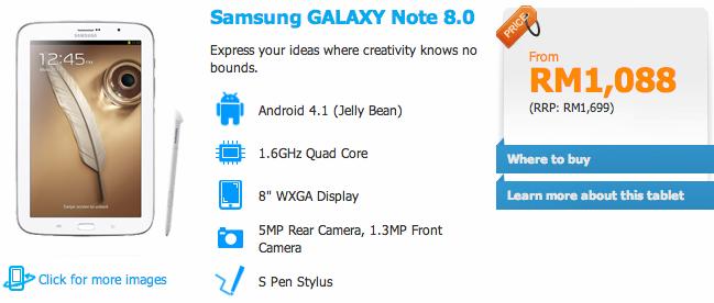 Celcom Galaxy Note 8