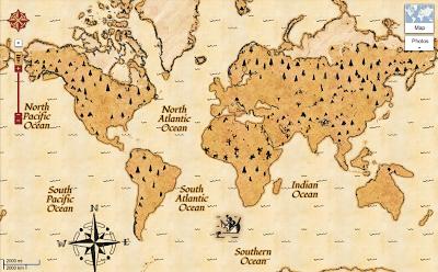 Google Maps Treasure Mode
