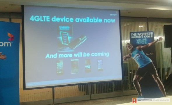 Celcom 4G LTE Devices