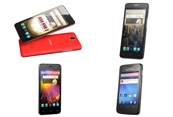 Alcatel One Touch Smartphones