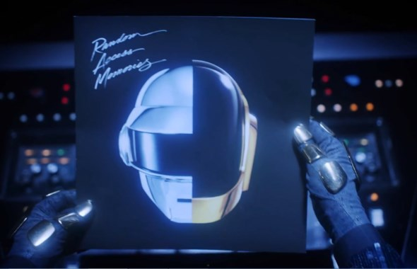Daft Punk Random Access Memories Unboxing Video