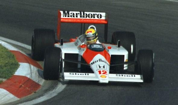 Ayrton Senna's McLaren MP4/4 1988