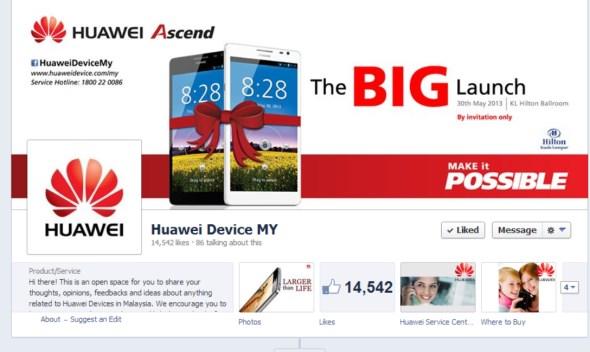 Huawei Ascend Mate Malaysian Launch