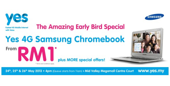 RM 1 Chromebook from Yes 4G
