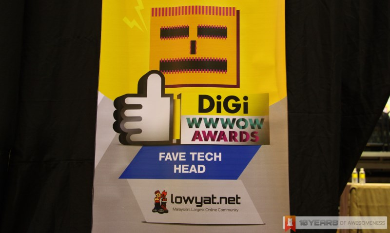 DiGi WWWoW Awards 2013 Favourite Tech Head By Lowyat.NET
