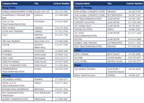 MCM Distribution - Plantronics BT Promo Dealers List