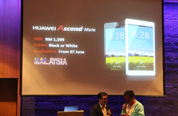 Huawei Ascend Mate Malaysian Launch