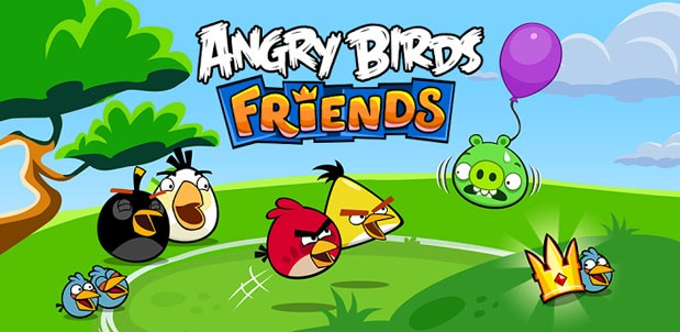 Angry Birds Friends Mobile Available
