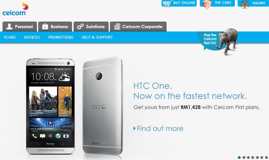 Celcom HTC One