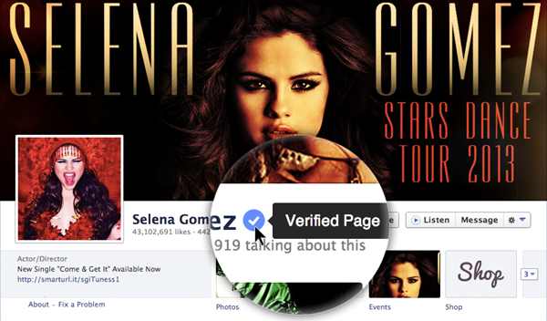 FB Verified Pages