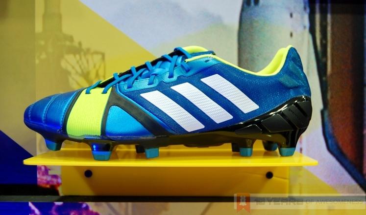 adidas malesia lancia la nitrocharge scarpe da calcio, costruito